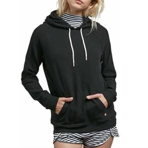 VOLCOM Lil Fleece Pullover in Black